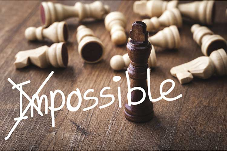 Chess Pieces with Leadership - I'm Possible!