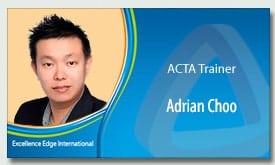 Adrian Choo - ACTA Trainer